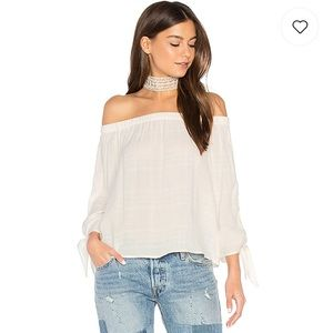 Maven West Linen Top